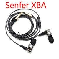 SENFER XBA 6in1 DIY HIFI Earphone 1DD 2BA Hybrid 3 Drive Unit In Ear Earphones With