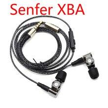 SENFER XBA 1DD 6in1 DIY HIFI Auricular + 2BA Híbrido 3 Unidad de Accionamiento Auriculares Intrauditivos Con Interfaz MMCX DJ Monitor de Auriculares de Música de Alta Fidelidad