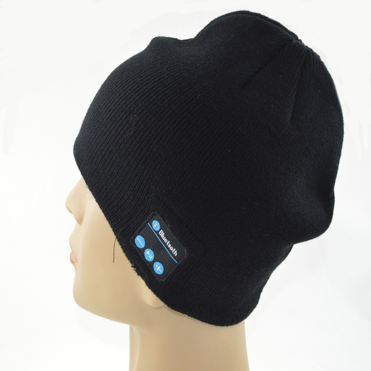 Wholesale Fabric Bluetooth Beanie Hat With Headphone Wireless Headset,hats for women,bluetooth hat.