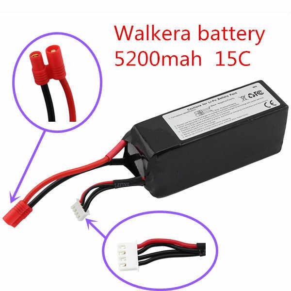 Walkera qr x350 pro lipo batterij 11.1 v 5200 mah 3 s 15c rc drone quadcopter onderdelen