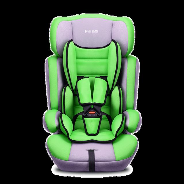 Durable cómodo Coche de Bebé Asientos de Seguridad Infantil Asiento de Seguridad Adecuado Para 9 Meses-12 Años de Edad Del Bebé T01