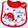 High Quality New Baby Bibs Towel Saliva Waterproof Kids Cartoon Pattern 3 Layer Toddler Lunch Bibs Burp Clothes