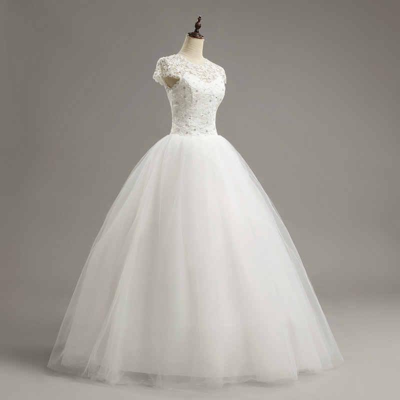 LAMYA מותאם אישית גודל שמלת כלה תחרה רומנטית 2019 אופנתי קצר הכלה שמלות זול כלה שמלות vestidos דה novia