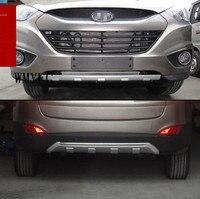 ABS chrome front chắn bùn phía trước bezel, (Bao Gồm Cả 3PIC) Cho 2010-2013 Hyundai ix35