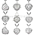9 Styles Bali Silver 18/20mm Angel Caller Wholesale Bijoux Vintage Pregnancy Chime Ball Hearts Cage Harmony Bola Pendant