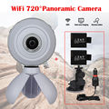 WiFi Action Sports Support VR Mode Panoramic Camera + Car Charger + 2x Battery Free shipping
