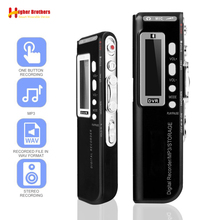 Portable 8G Voice Recorder USB Professional 96 Hours Playback Dictaphone Digital Audio Sound Voice Recorder With WAV,MP3 Player