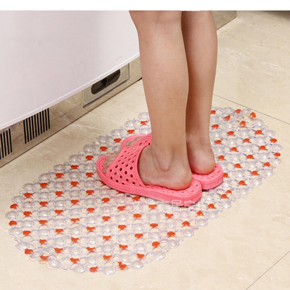 37*66 cm Douche Matten Antislip Plastic Badmat Badkamer Massage ...