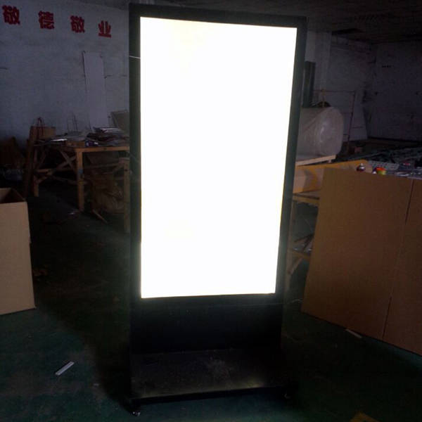 Picture frame light Wall Placeholder Restaurant Outdoor Stand Led Menu Boards Movable Double Sided Aluminum Advertising Menu Poster Frame Light Boxes Youtube Online Shop Restaurant Outdoor Stand Led Menu Boards Movable Double