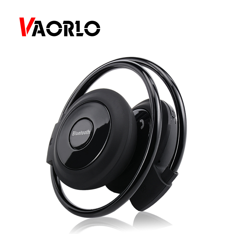 VAORLO Mini 503 Bluetooth Headphones Sports Wireless Headsets TF/Micro SD Card Neckband Stereo Bluetooth Earphones With MIC FM цена 2017