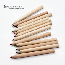 12 Pcs Kraft Paper Cartridges Multicolor Pencil 12 Colors Loading Sharpener Cover Drawing Color Of Lead Color Pencil