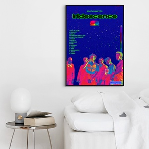 Brockhampton-Schillern Album Pop Musik abdeckung Musik Star Poster Leinwand Drucke Wand Kunst Für Wohnzimmer Wohnkultur