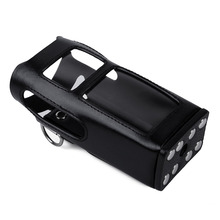 New hard leather carring case digital Hytera two way radio PD780 pd785 walkie talkie