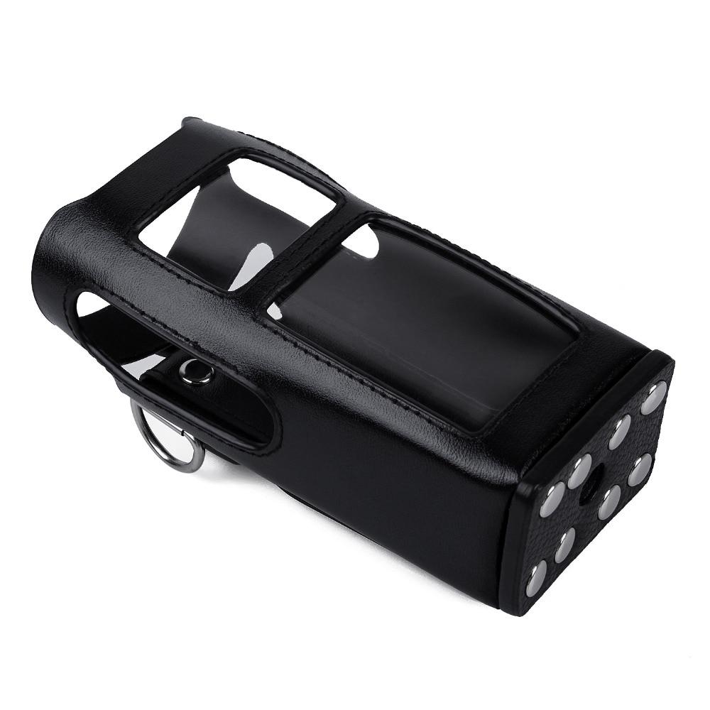 imágenes para Nuevo cuero carring caso duro digitales hytera pd785 pd780 walkie talkie de radio de dos vías