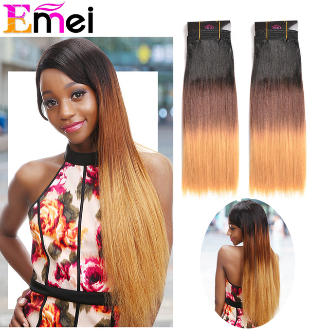 1pcfast Shipping Premium Quality Noble Yaki Straight Blended Hair