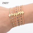 ZMZY Gold Color Cact...