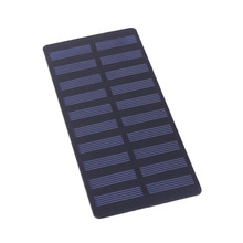 Cewaal Universal 5.5V 3W Solar Panel Standard Polycrystalline Silicon DIY Battery Power Charge Module 150*69mm Mini Solar Cell