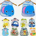 20 Styles Baby Bibs EVA Waterproof Lunch Bibs Boys Girls Infants Cartoon Pattern Bibs Burp Cloths For Children Self Feeding Care