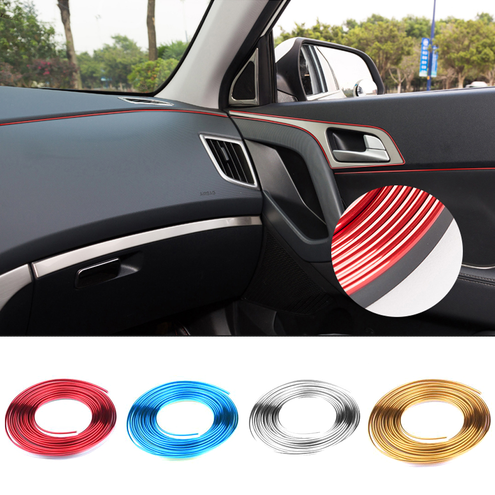 3m new car styling interior internal decorative thread for Accessoire deco