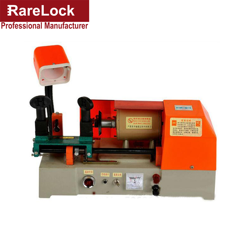 Rarelock 238AC Professional Duplicated Locksmith Supplies Tools Car Door Key Cutting Copy Machine a