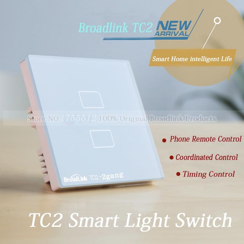 EU Broadlink TC2 2 banda pametni prekidač, mreža bežični - Pametna elektronika - Foto 3