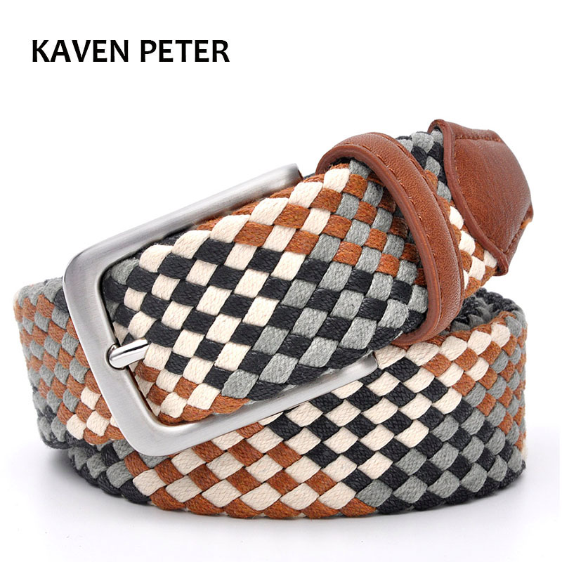 Braided Belt For Lover Men Belt 3.5 Cm Women Belts 3.0 Cm Without Holes Cotton Weave Pipe Strong Belts From 23