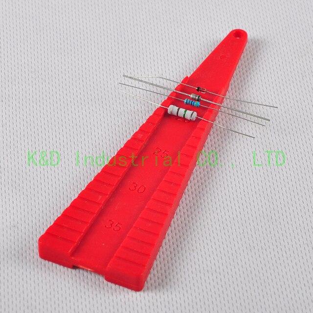 1 шт. осевой Гибочный Бендер 1/4 1/2 3 Вт, конденсатор, углеродные Comp резисторы DIY