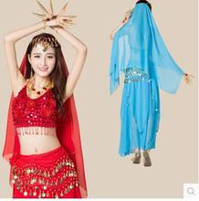 Luxury High-grade India belly dance costume new design suit nice 7 pieces set performance dancing clothing
