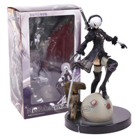 NieR Automata 2B YoRHa No 2 Type B PVC Figure Collectible Model Toy With Retail Box
