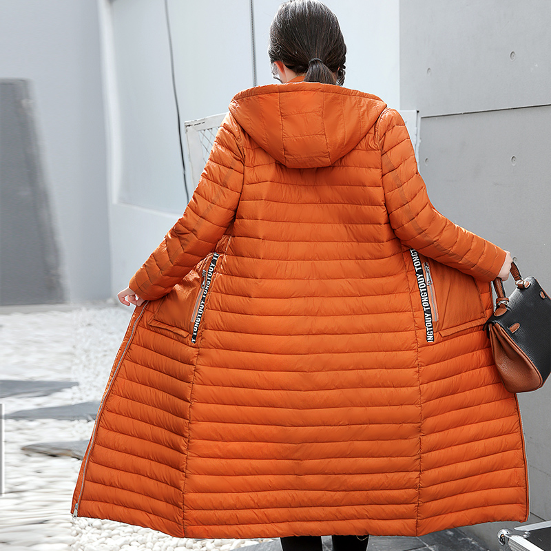 KUYOMENS New Casual Winter Cotton coat Jacket 2018 long Winter jacket Women   Parkas   female Slim Winter Warm Coat