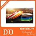 Etiqueta do carro 1 cm * 5 m Fita Reflexiva Cobertura Styling Refletir Auto Moto motocicleta Decoração Filme Decalque de Corpo Inteiro luz de Aviso de segurança