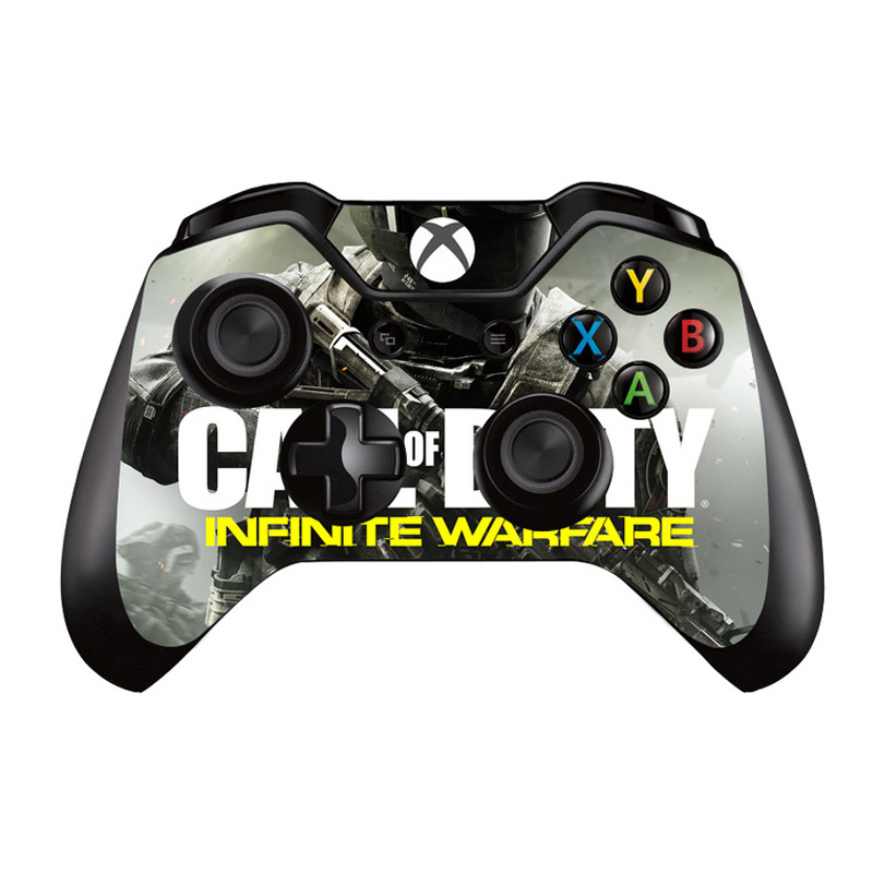 call of duty vinyl skin sticker protector for microsoft xbox one controller skins stickers for. Black Bedroom Furniture Sets. Home Design Ideas