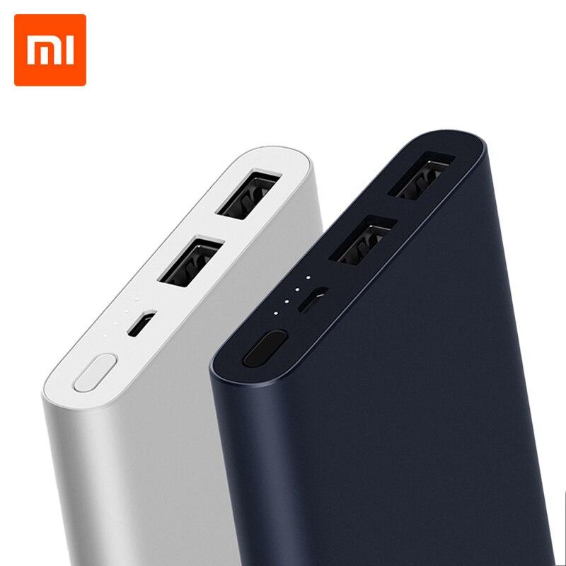 Xiaomi Power Bank Mi 10000mAh 2i Dual USB Portable Charger
