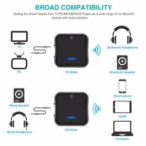 Image 5 - Bluetooth 5.0 Transmitter Receiver CSR8675 APTX HD LL Bt Audio Music Wireless USB Adapter 3.5mm 3.5 AUX Jack/SPDIF/RCA for TV PC