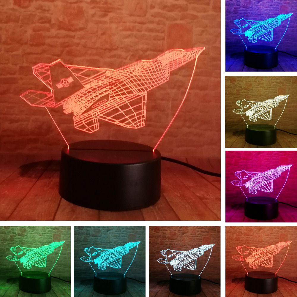 Led Lamps New Colorful Christmas Hat Led Small 3d Night Lights Christmas Gifts Can Be Customized Wholesale 3d Led Lamp