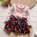 Baby Europe & United States Style 2017 Spring New Baby Puff Dress Children's Dress Fashion Up To People Net Yarn Dress