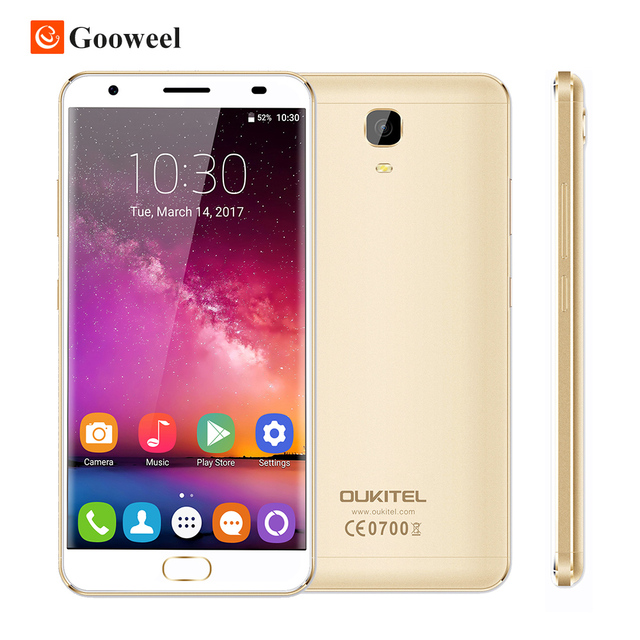 "Oukitel K6000 PLUS 5.5"" FHD MTK6750T Octa Core Android 7.0 Mobile Cell Phone 16MP 4GB+64GB 4G Smartphone 6080mAh Fingerprint"