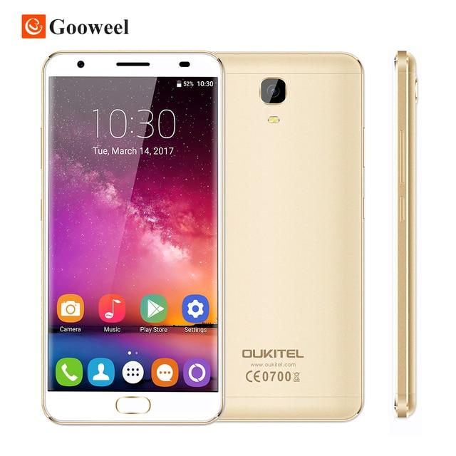 "Oukitel K6000 PLUS 5.5"" FHD MTK6750T Octa Core Android 7.0 Mobile Cell Phone 16MP 4GB+64GB 4G Smartphone 6080mAh Fingerprint"