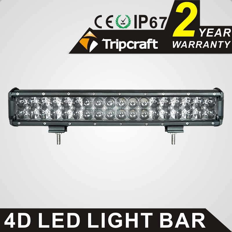 TRIPCRAFT 180w 4D led work light bar super bright car driving lamp for Tractor Boat OffRoad truck fog lamp spot flood combo beam