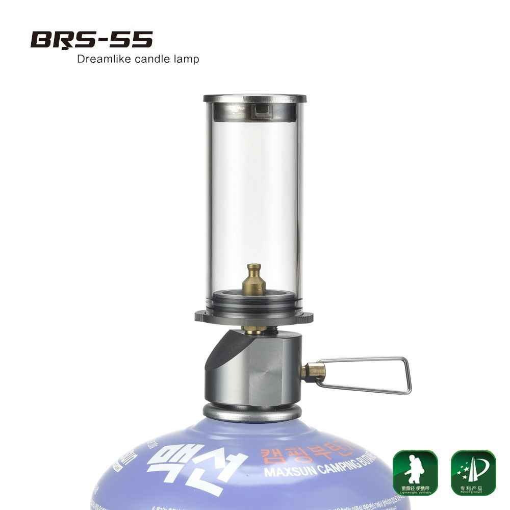 Portable Outdoor Camping Picnic Butane Gas Lantern Candle Tent Lamp Light I2N5