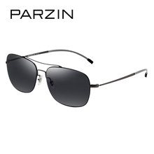 PARZIN Brand Cool Aviator Sunglasses For Men Top Quality Men Real Sun Glasses For Driving Fashion Male Eywear 2017 New
