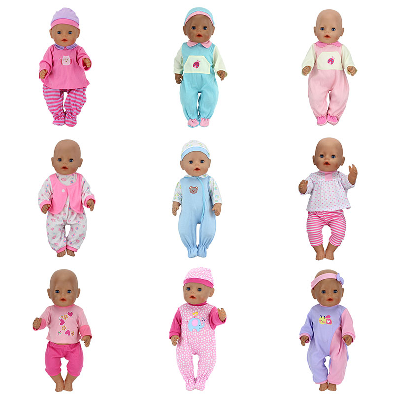10 Styles Choose clothes Wear fit 43cm Baby Born zapf, Children best Birthday Gift(only sell clothes) цены онлайн