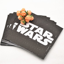 20pc/bag Cute Star War Cartoon Party Supplies Paper Napkin Birthday Decoration and Favors Kids