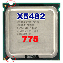 INTEL xeon X5482  socket LGA775  CPU 3.2GHz /12MB L2 Cache/Quad Core/FSB 1333 Processor without adapters