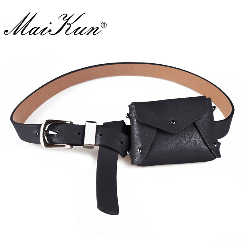MaiKun  Women's Bag Belts for Women belt Luxury Brand Belt Women