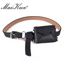 MaiKun women Bag Belts for Women belt Luxury Brand Belt