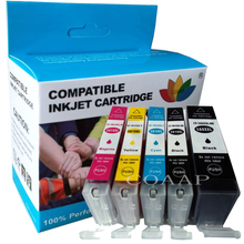 5 pcs Compatible PGI580 CLI581 Ink Cartridges For Canon Pixma TS6151 TS8151 TR7550 TR8550 TS6150 TS8150 TS9150 TS9155