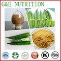 100% natural em pó extrato de semente de quiabo