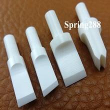 4 stücke Handwerk leder werkzeuge HRA90 Nano Keramik Swivel Messer Klinge Leathercraft Fillgree Werkzeug Hand Made