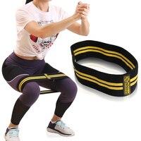 Силовое руководство Hip сопротивление резинка оборудование для фитнеса Для Warmups приседания мобильность тренировки ноги более удобные